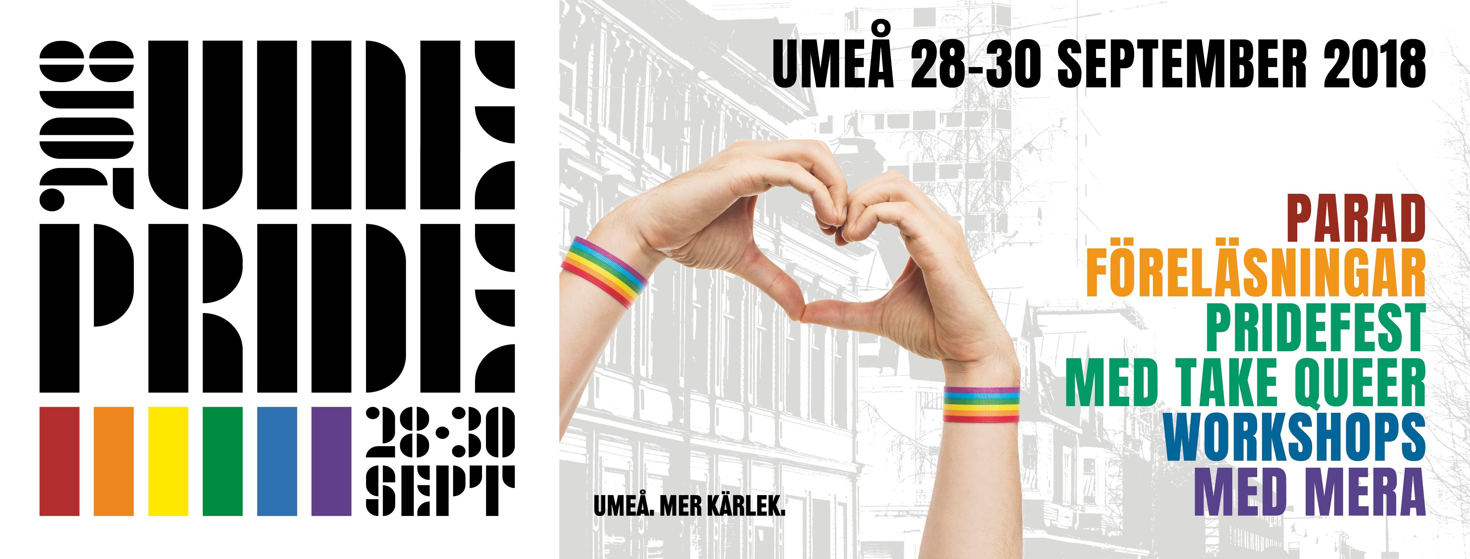 Umeå Pride 2018