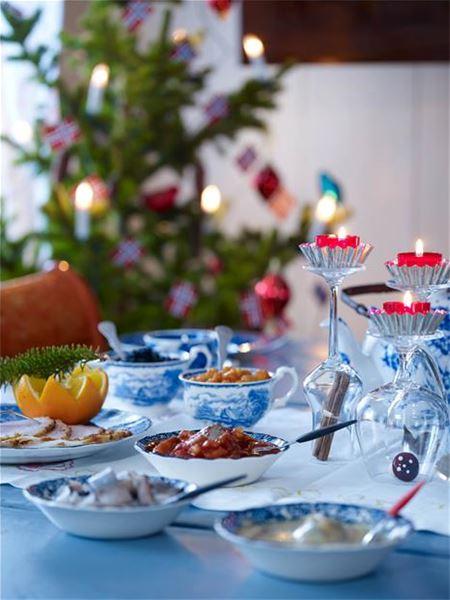 Skottgården , Jule taffel i Skottgården