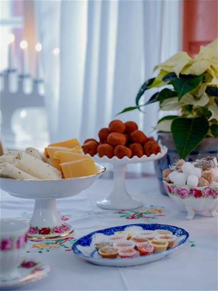 Jule taffel i Skottgården