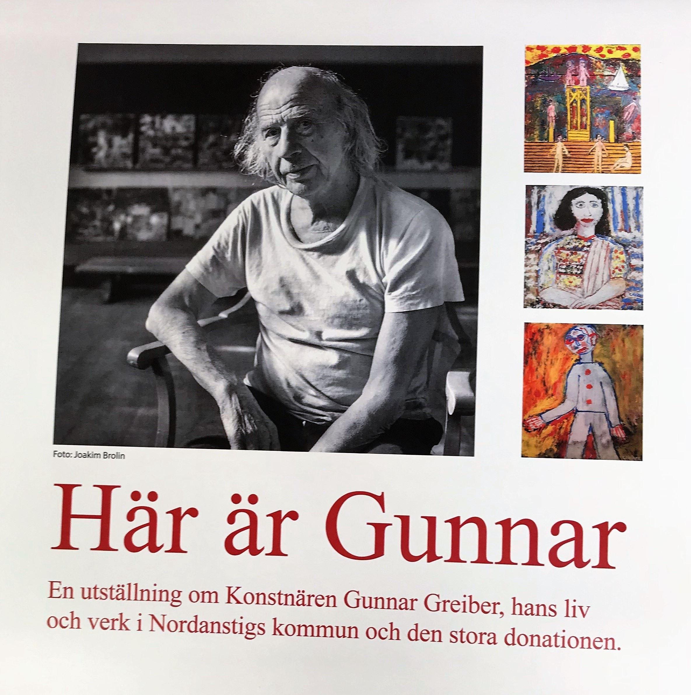 Utställning - Här är Gunnar