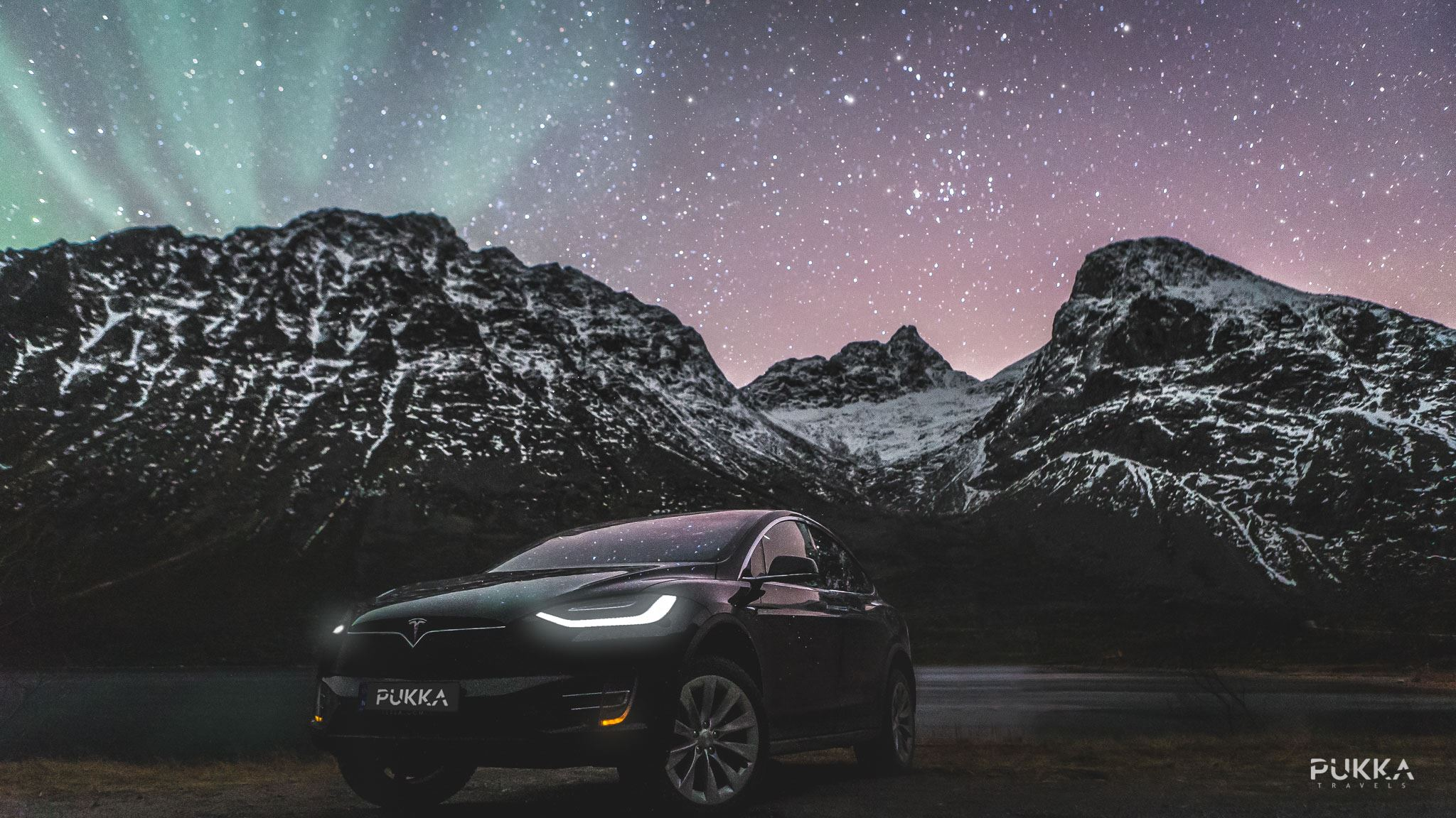 Northern Lights x Tesla Experience - Pukka Travels