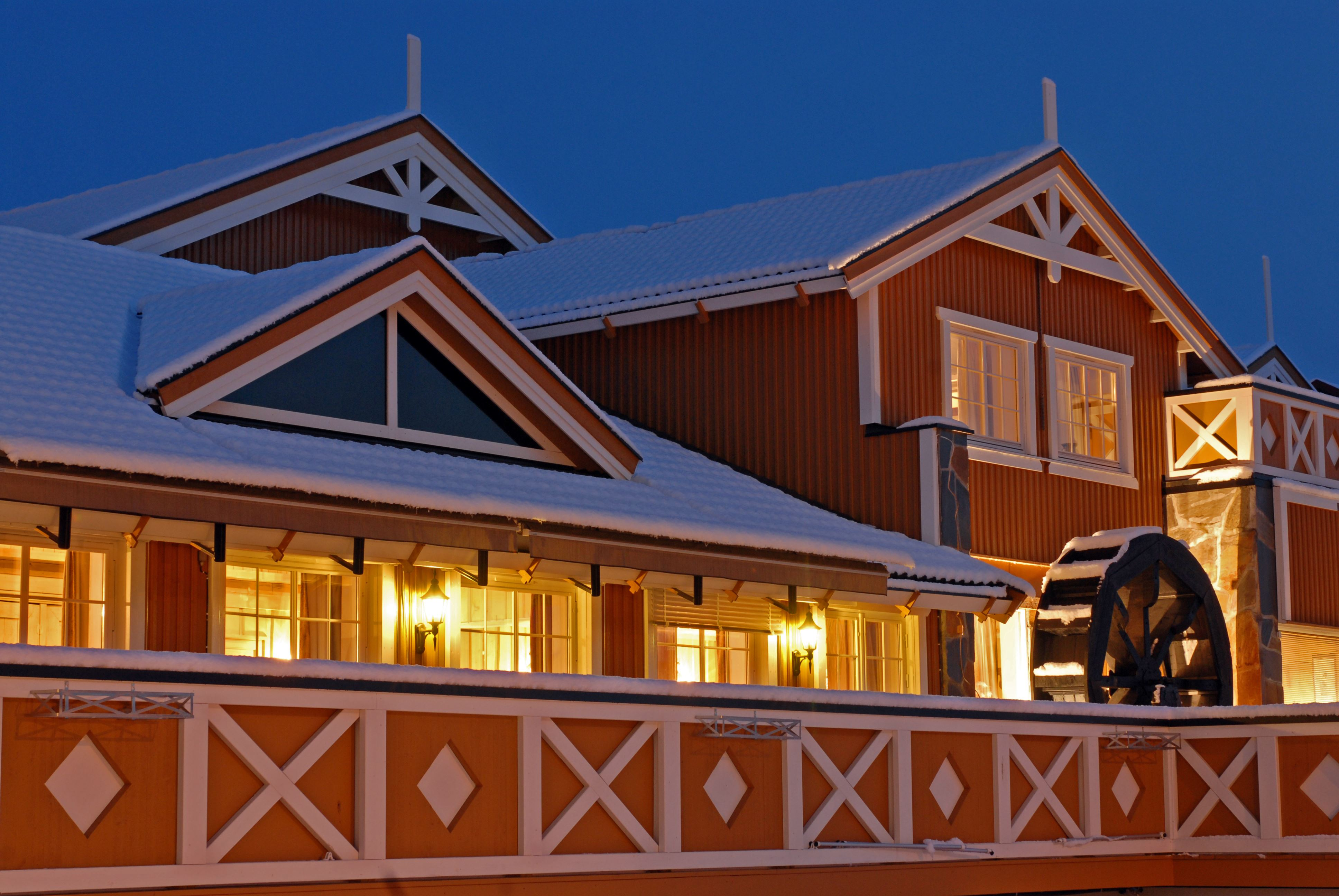 Christmas Eve at Hafjell Hotel