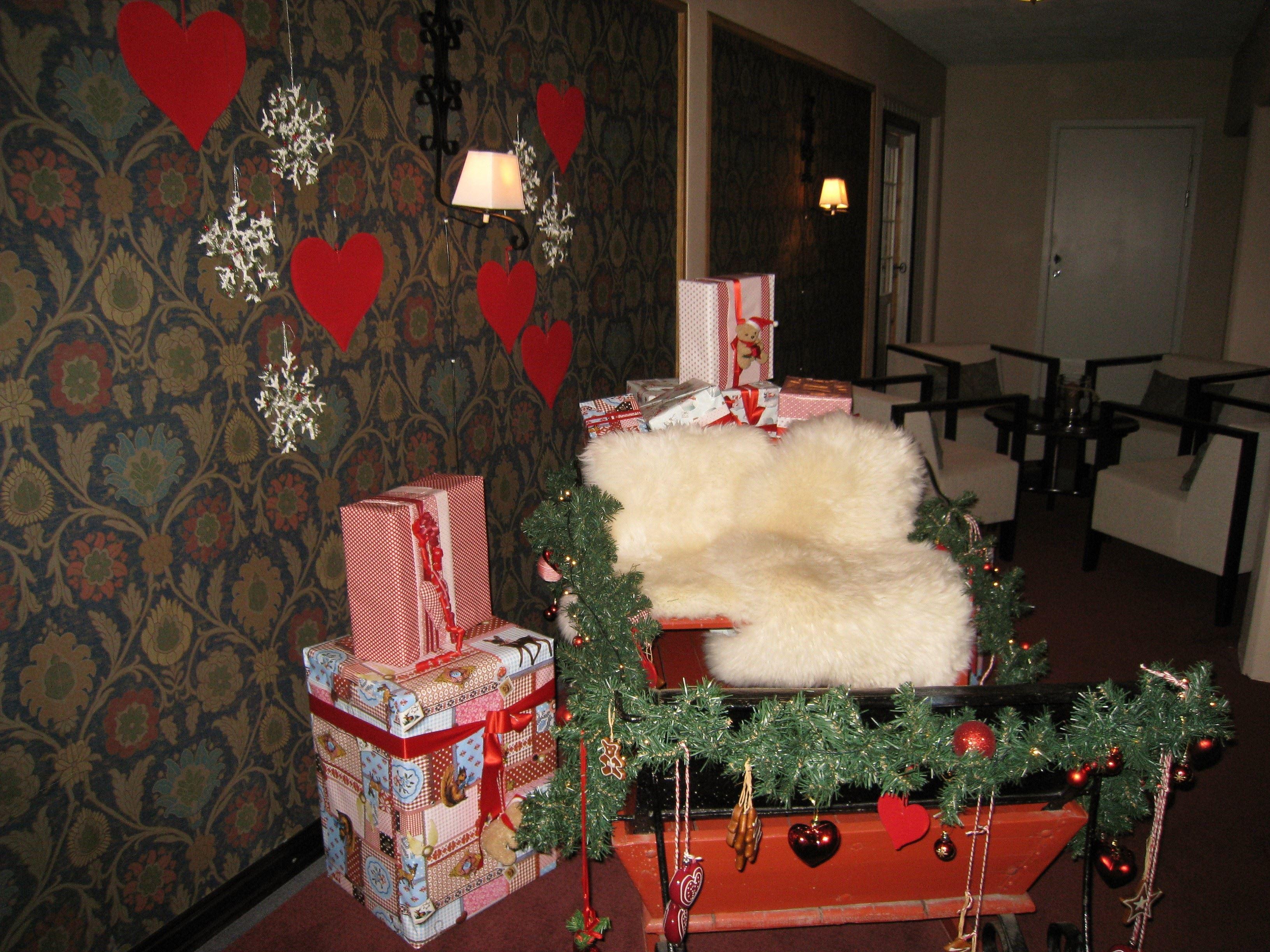 Julaften på Hafjell Hotell