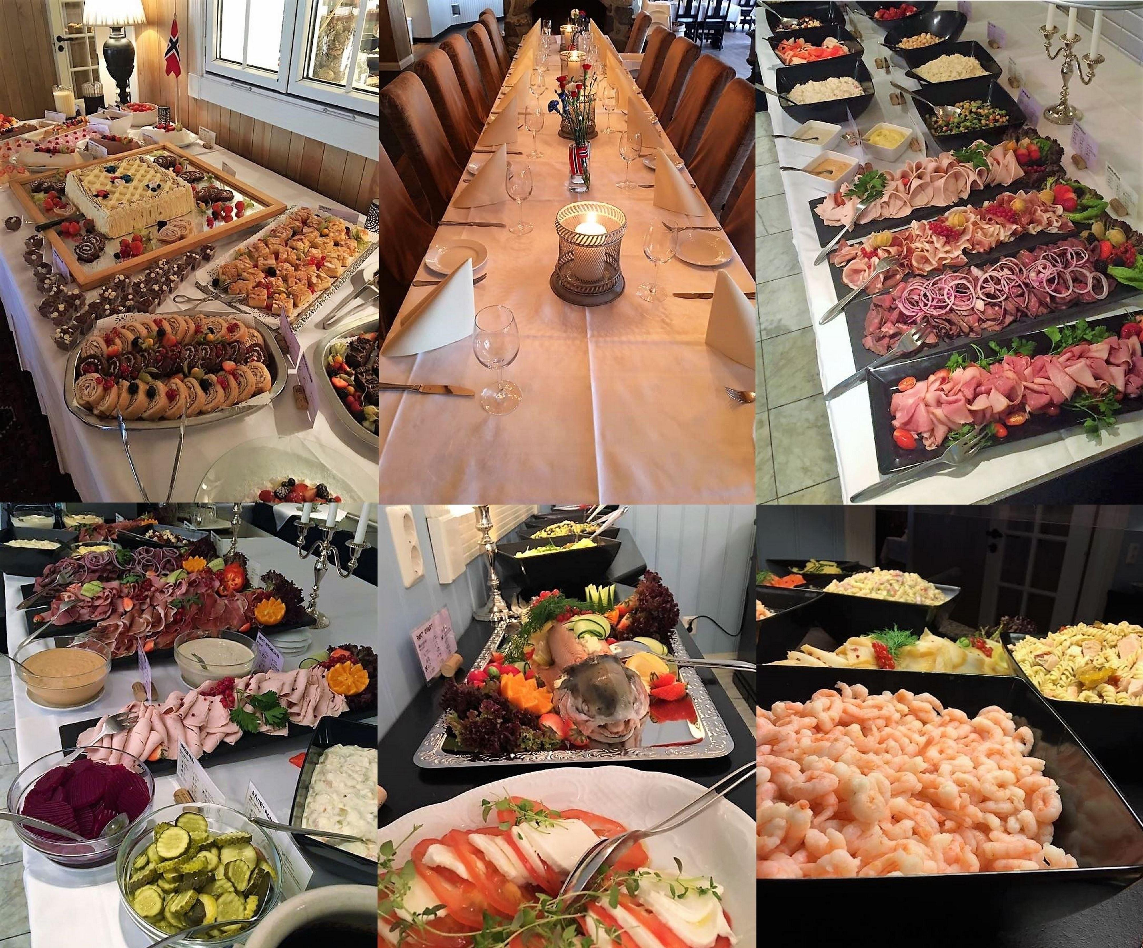 May 17 buffet