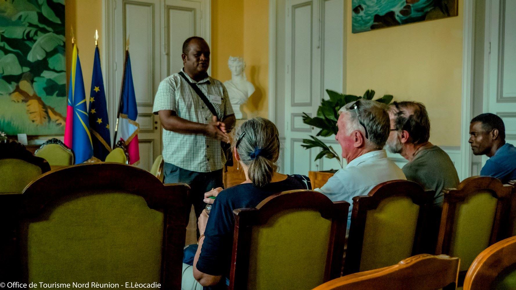 Ancien Hôtel de Ville de St-Denis - Visite officielle labellisée