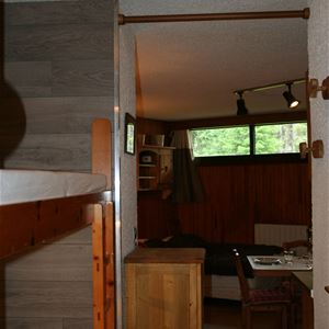 1 studio 4 persons, ski-in ski-out / Domaine du Jardin Alpin 6B (Mountain) / Tranquillity Booking