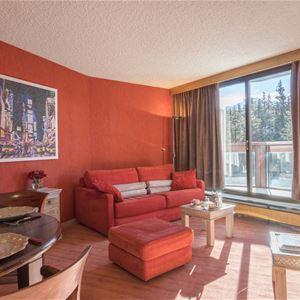 2 rooms with corner 4 to 6 people / Domaine du Jardin Alpin 302B
