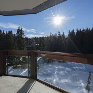 2 pièces cabine 4 à 6 personnes / Domaine du Jardin Alpin 302B (Montagne) / Séjour Sérénité