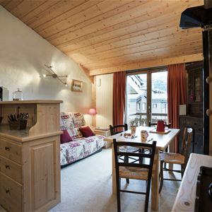 1 studio avec mezzanine 2 à 4 personnes / Marquis 407 (Montagne)
