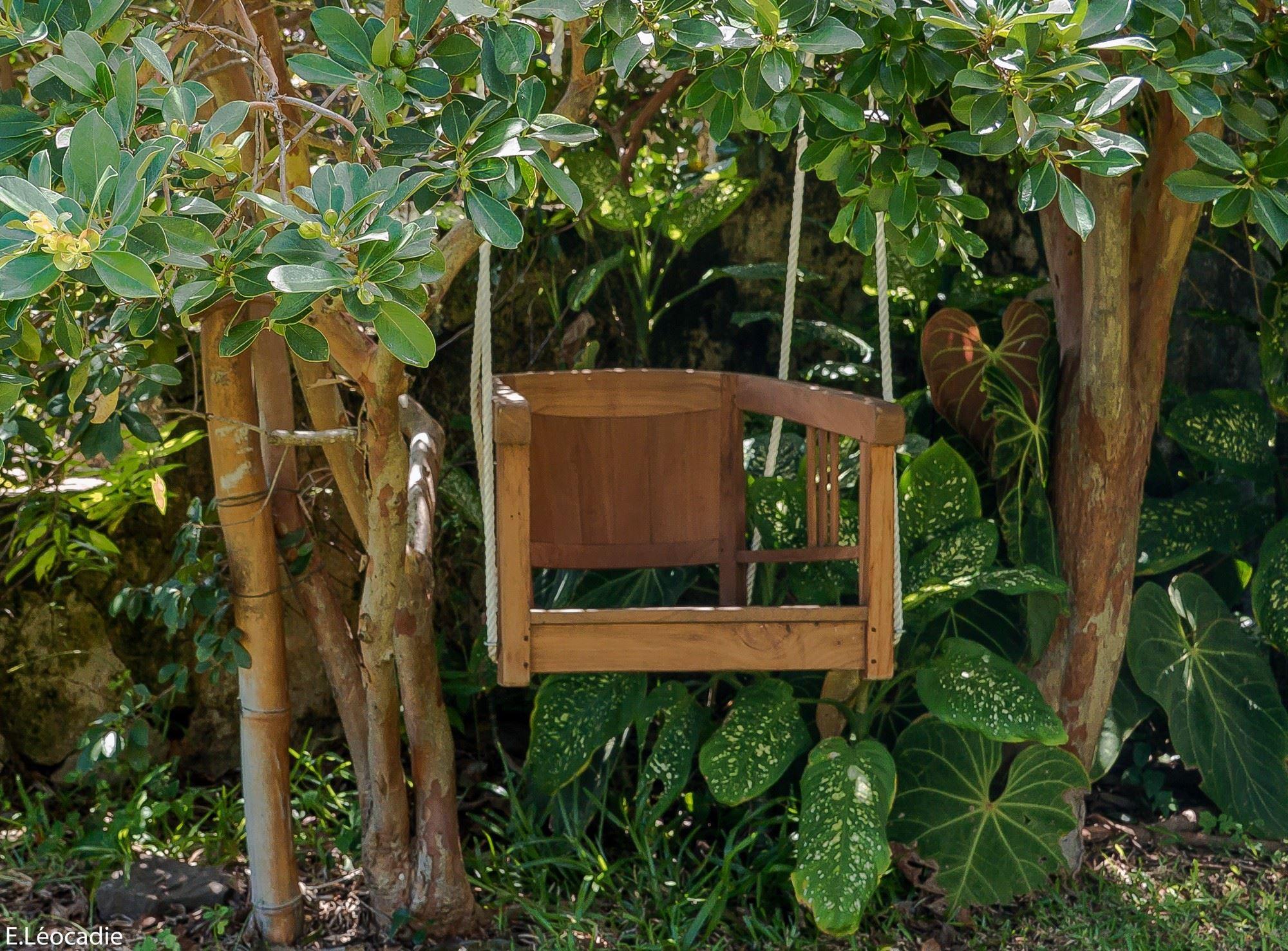 """Suivre le fil... du choca au """"jardin remarquable"""""""