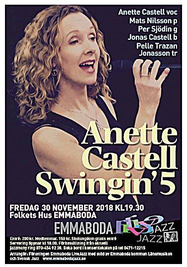 Anette Castell Swingin´5