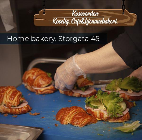 © Koseverden AS, Croissants with ham from Koseverden