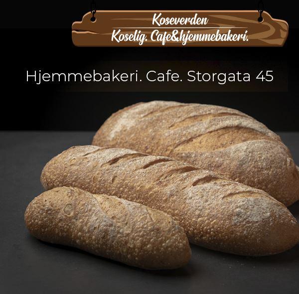 © Koseverden AS, Bread from Koseverden