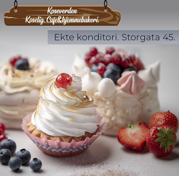 © Koseverden AS, Cupcake from Koseverden