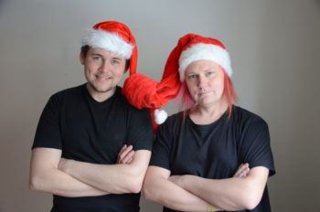 Julhyttsill med Claes-Martin Hoffsten & Johan Nylinder