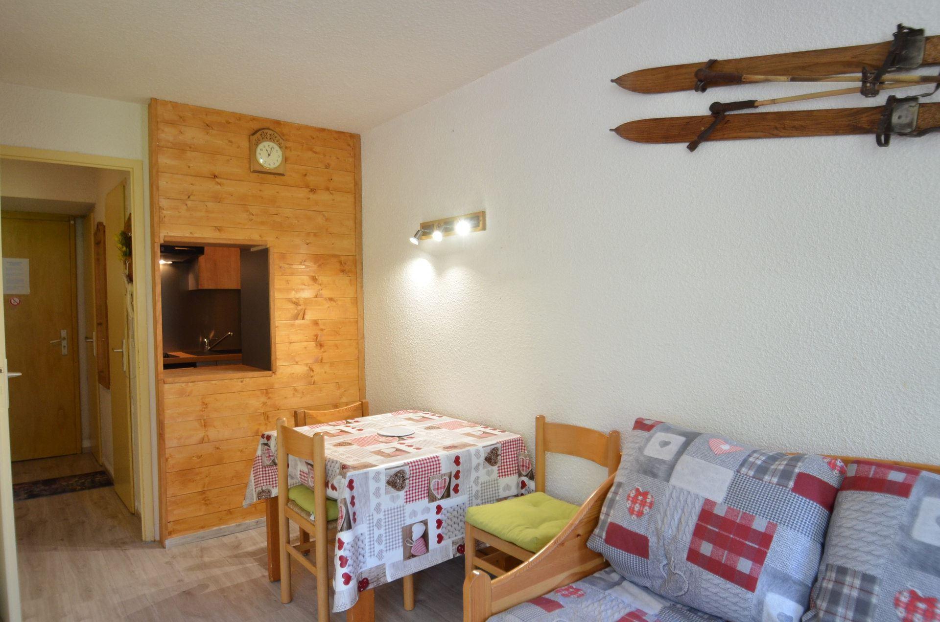 Studio 4 pers skis aux pieds / CHANTENEIGE 507