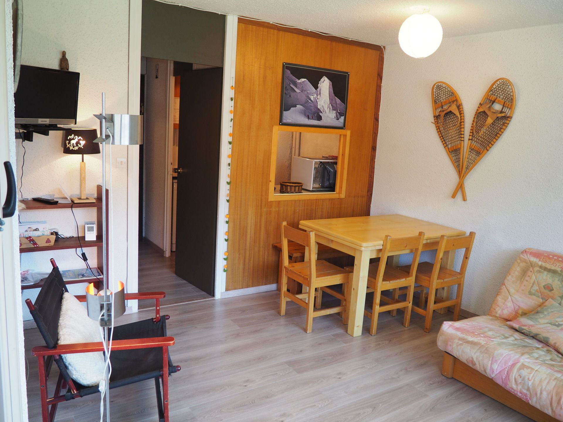 2 Room 6 Pers ski-in ski-out / Aravis 417
