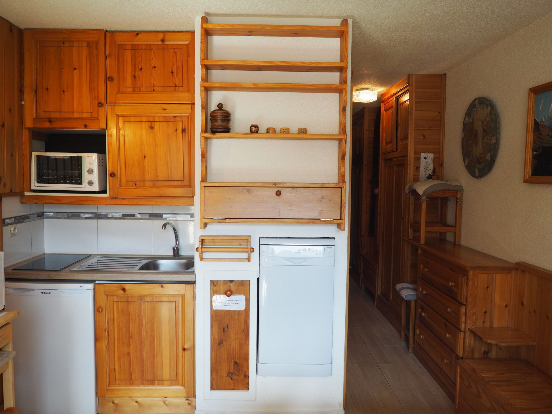 2 Rooms + cabin 4 Pers ski-in ski-out / ASTERS A1 322