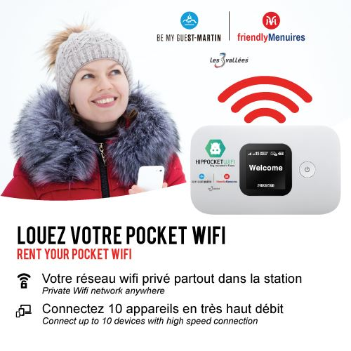Rent your pocket wifi and stay connected everywhere !
