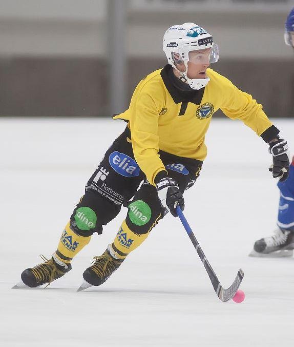 Hans Ivarsson, Elitseriebandy Broberg - Vetlanda BK