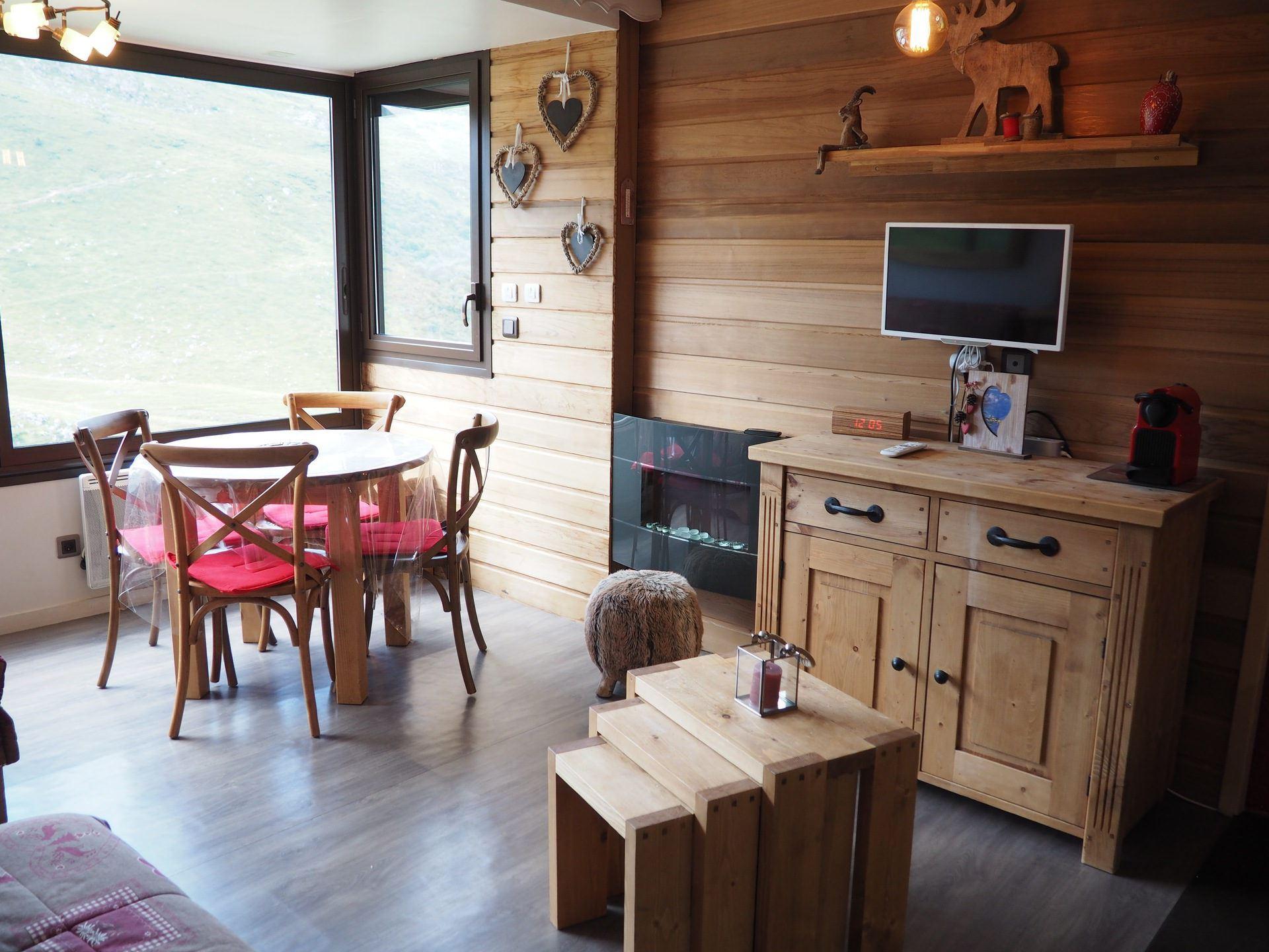 4 Pers Studio ski-in ski-out / BIELLAZ 54