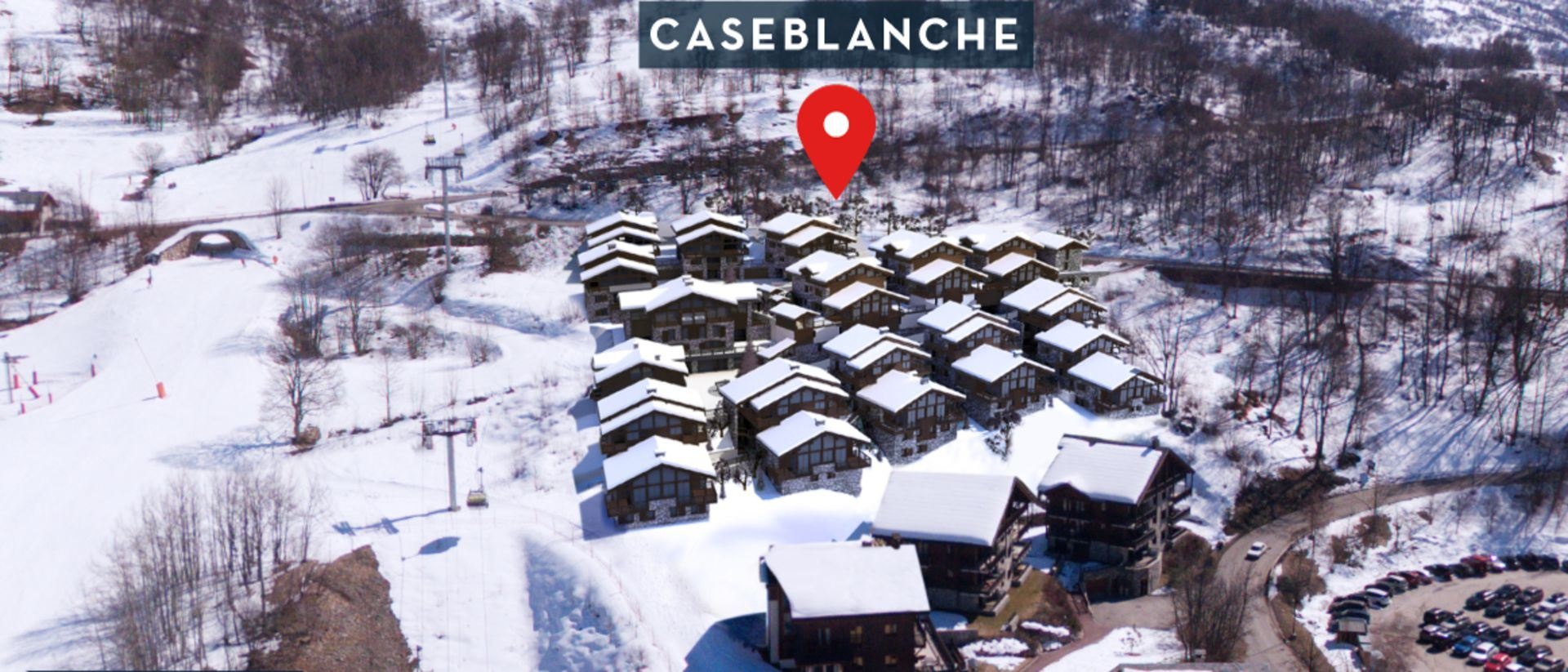 7 Room 12 Pers ski-in ski-out / CASEBLANCHE H8