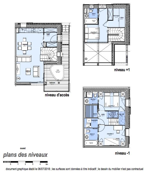 4 Room 6 Pers ski-in ski-out / CASEBLANCHE C22
