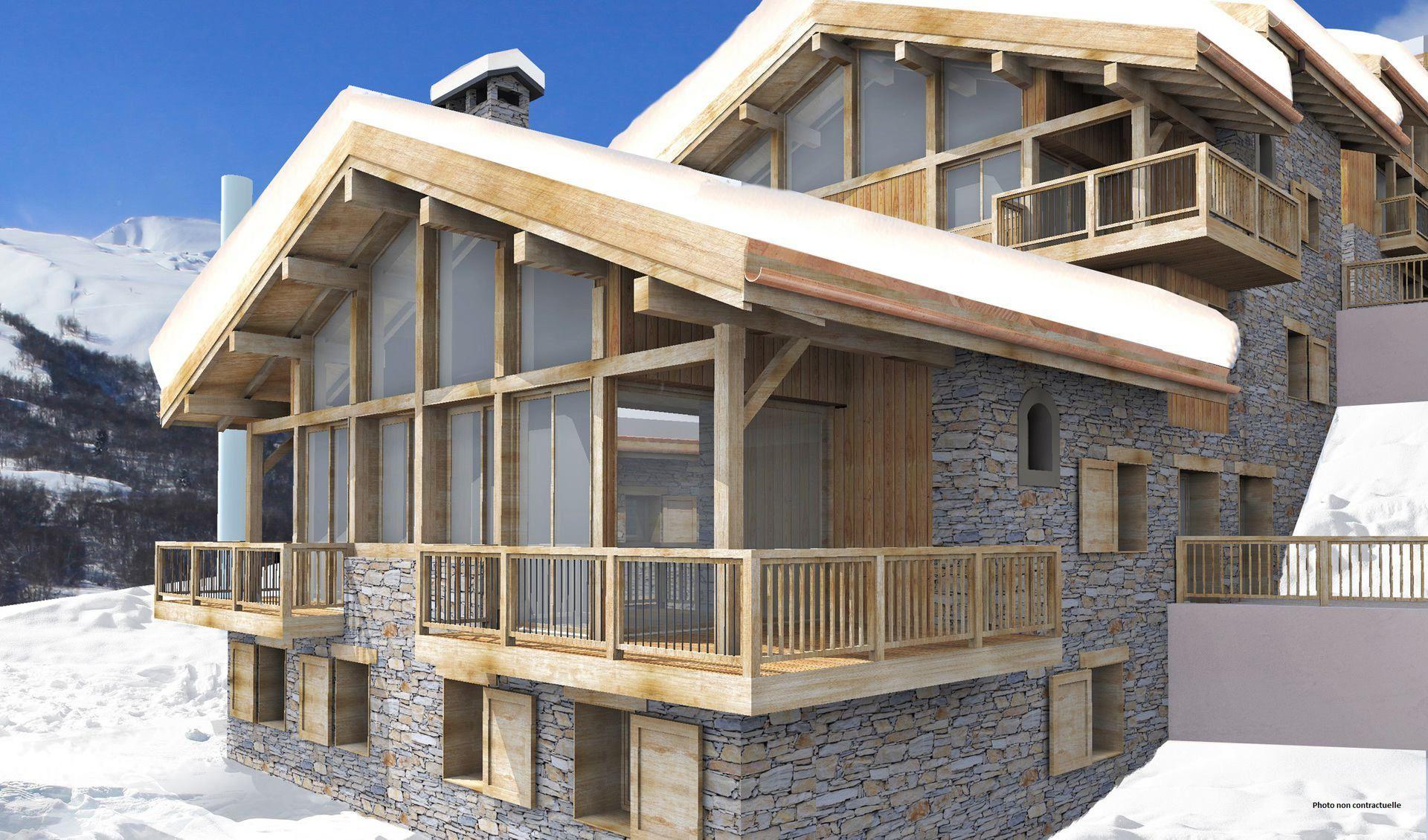5 Room 8 Pers ski-in ski-out / CASEBLANCHE E16