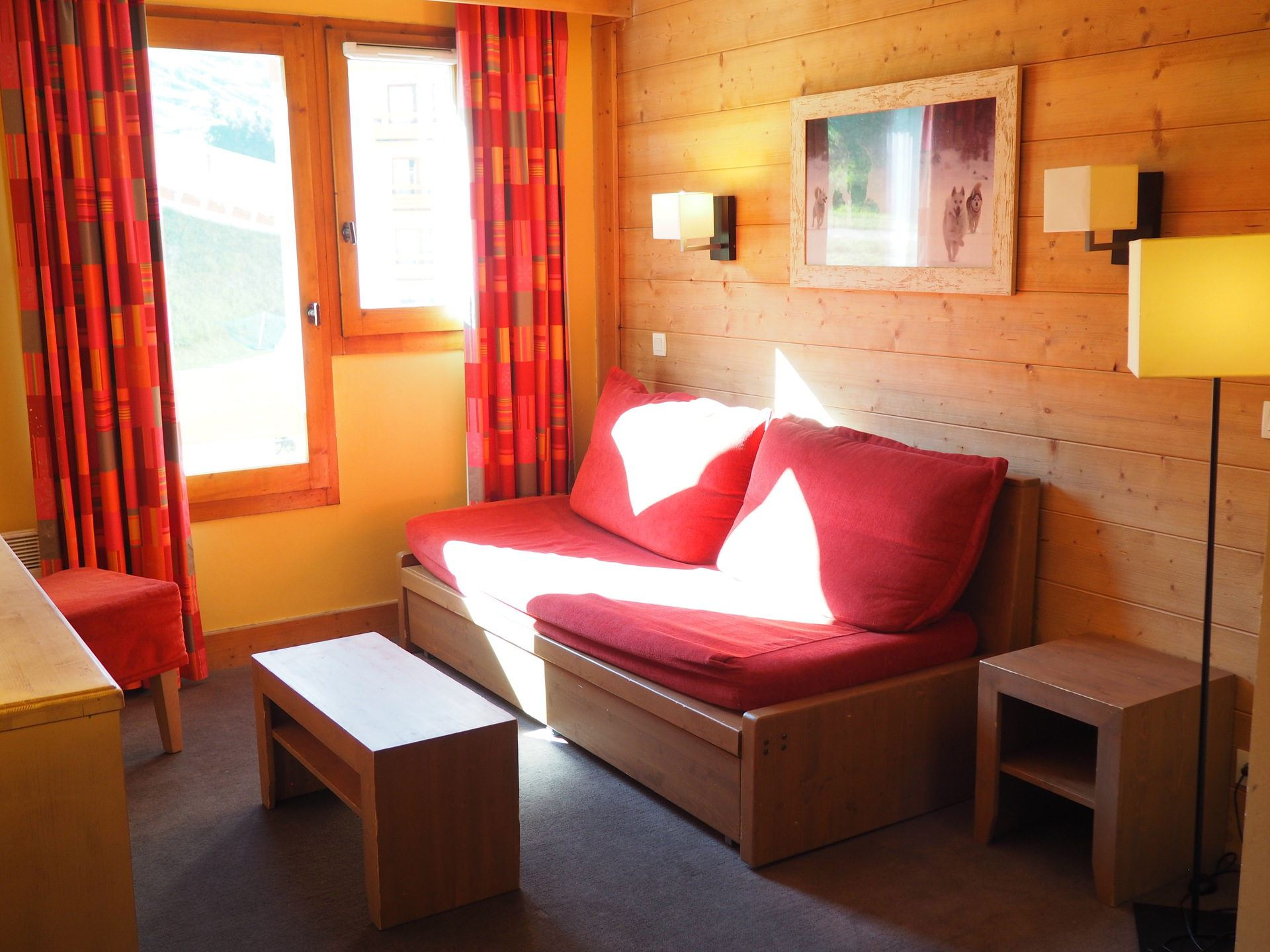 3 Room + cabin 8 Pers ski-in ski-out / ACONIT 224