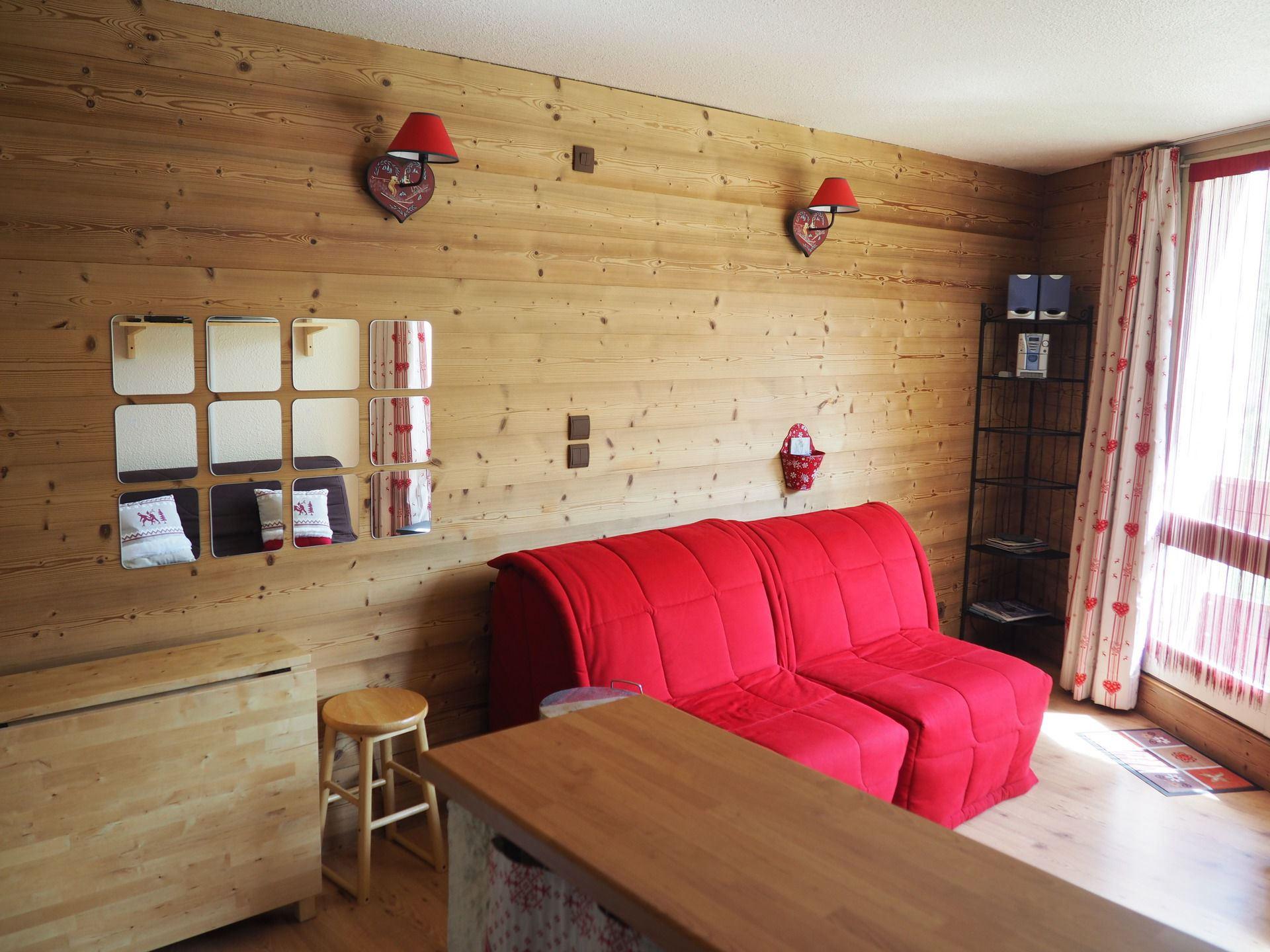 Studio 3 Pers skis aux pieds / CARON 311