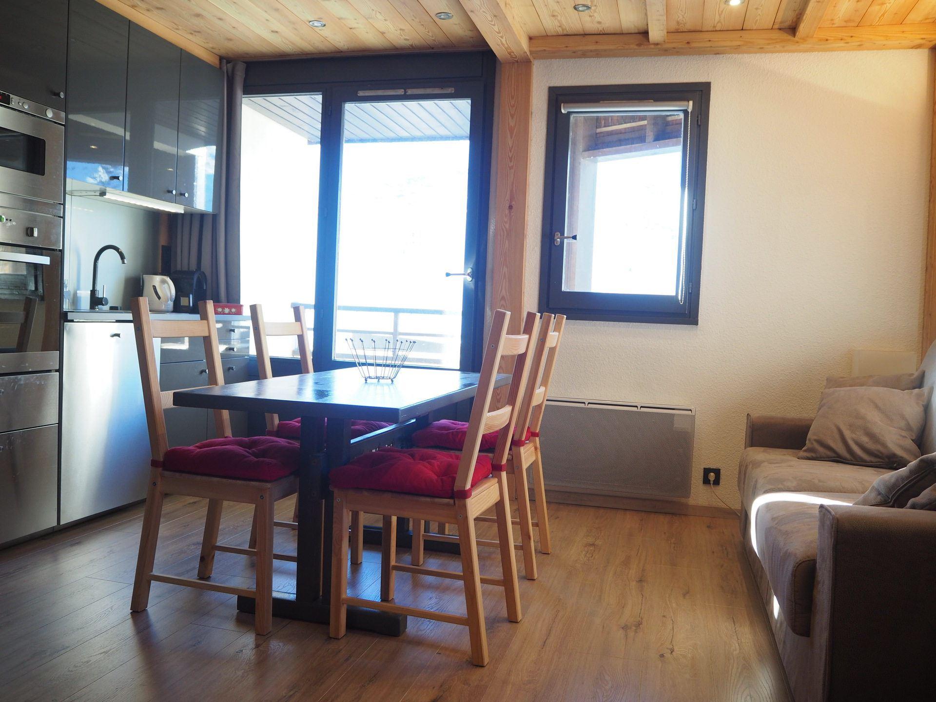 4 Pers Studio ski-in ski-out / GENTIANES 412