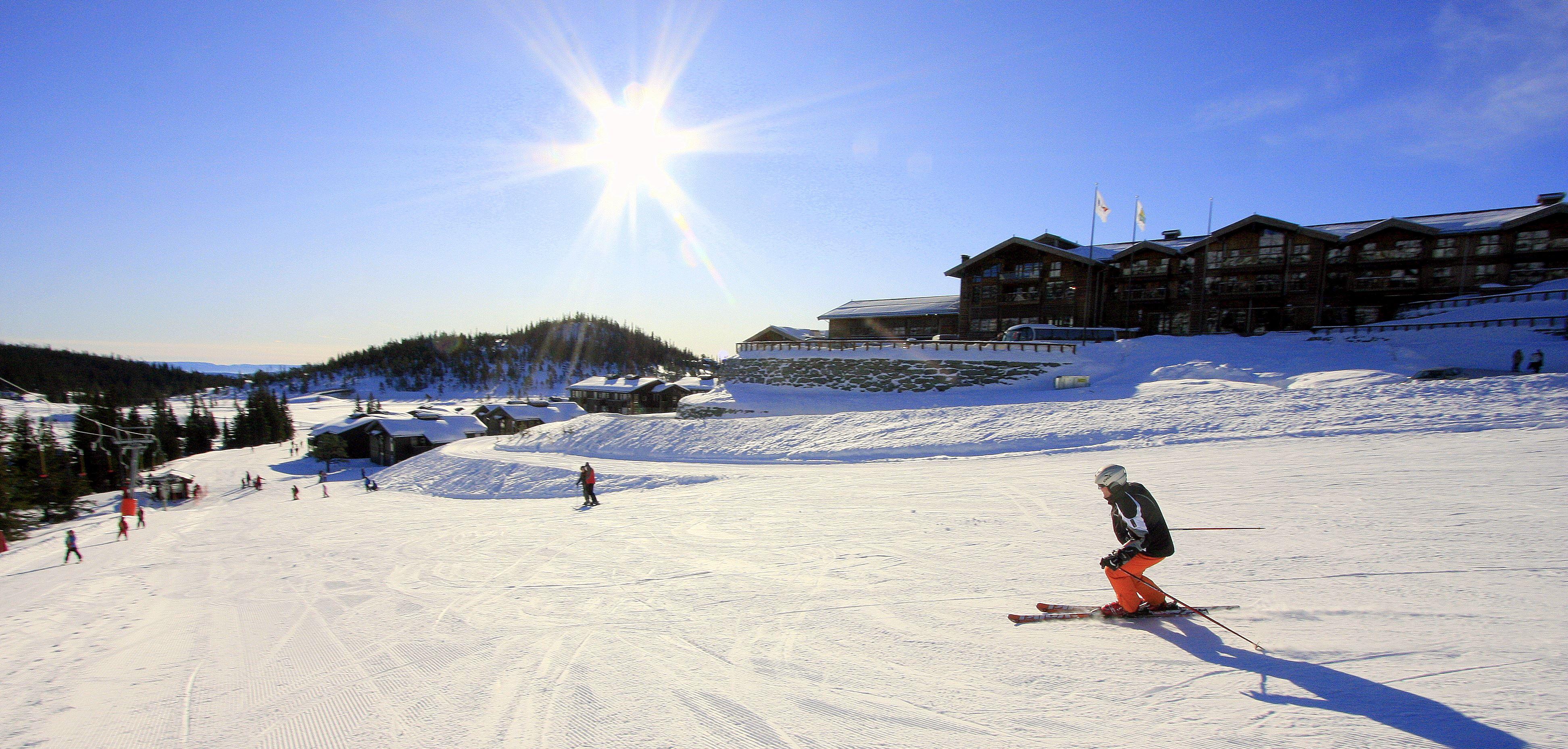 Ski inn/ut