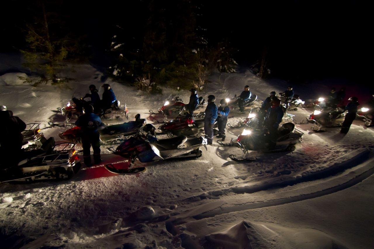 Lyngsfjord Adventure,  © Lyngsfjord Adventure, Snowmobilesafari - Evening - Lyngsfjord Adventure