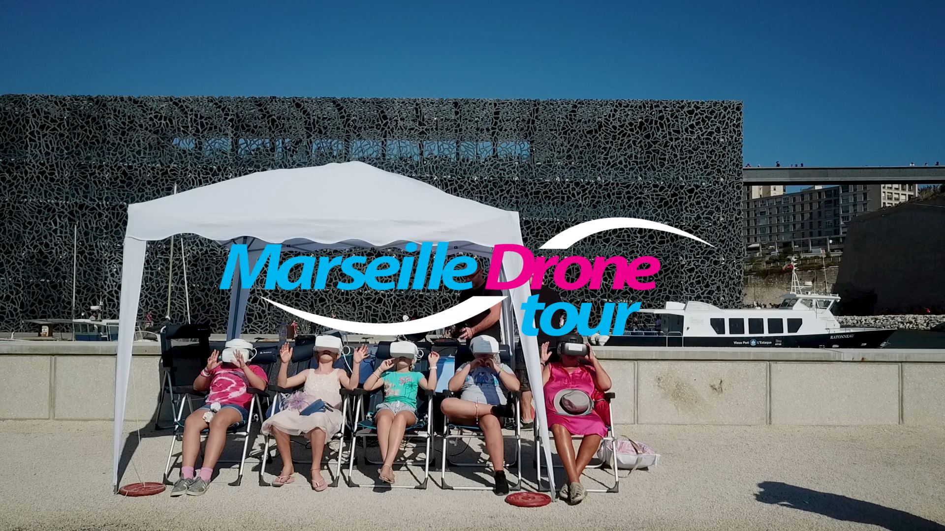 Marseille Drone Tour