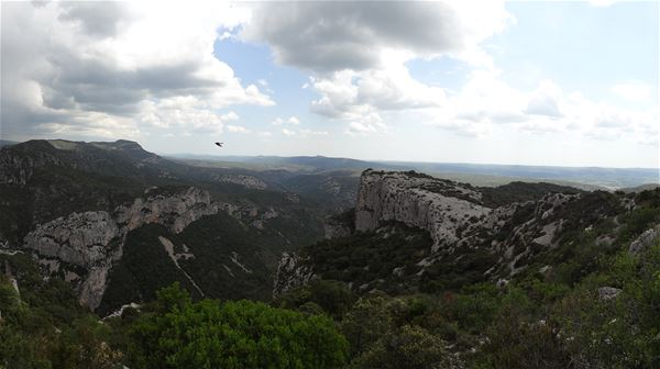 Hiking in Saint Guilhem: one of the most beautiful panorama of the region with Wisud
