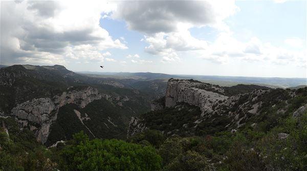 Randonnée à Saint Guilhem: un des plus beau panorama de la région avec Wisud