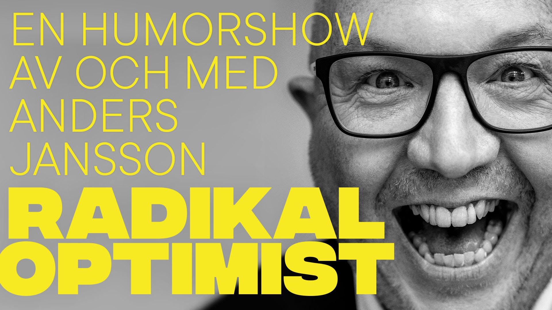 Radikal Optimist - Anders Jansson