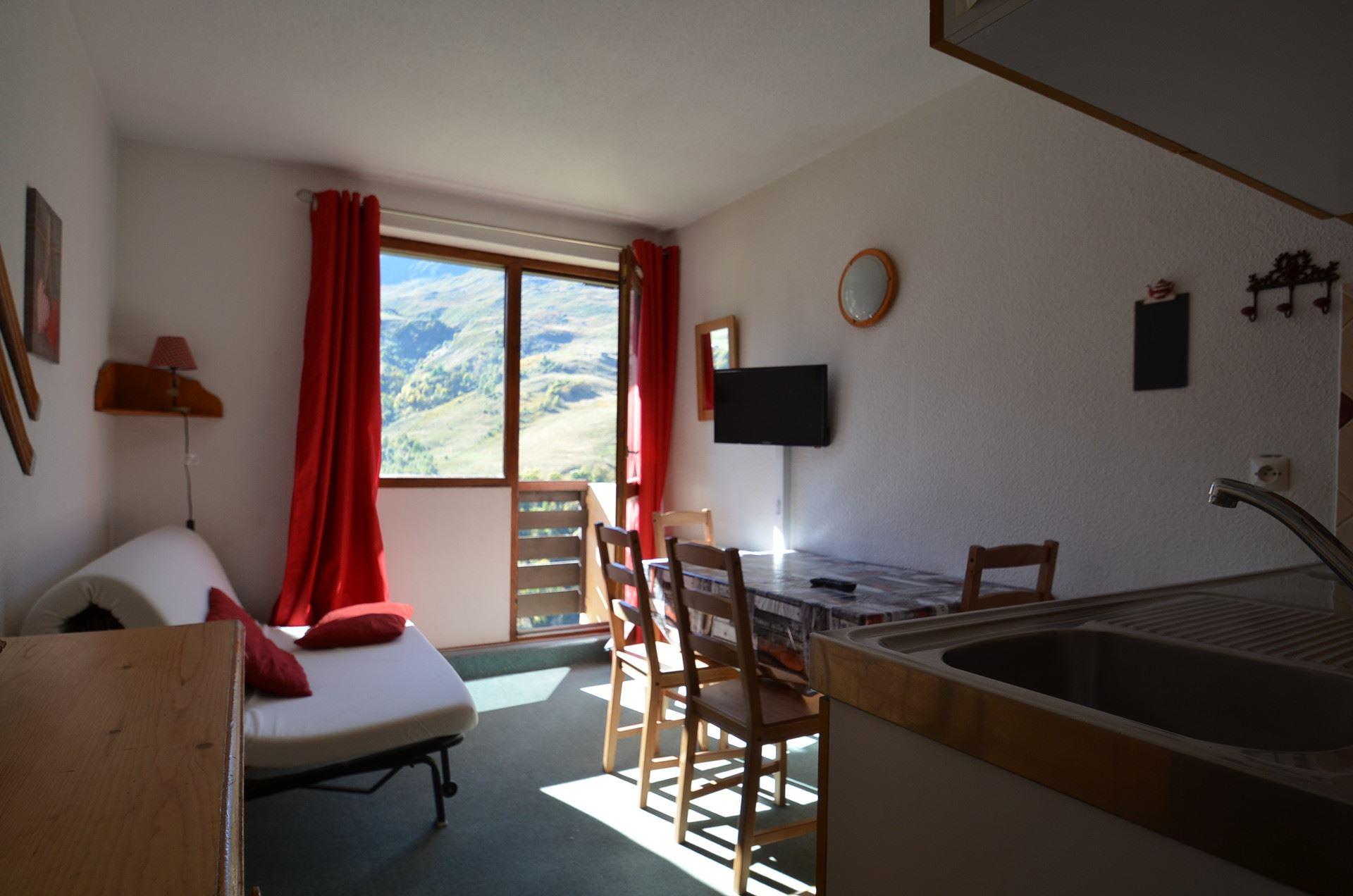 2 Pers Studio cabin ski-in ski-out / SARVAN 409