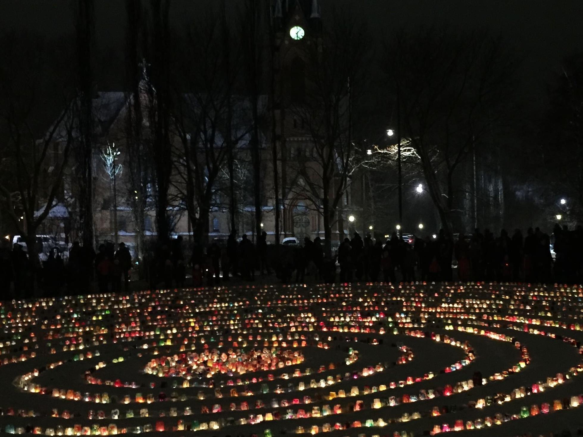 Thousands of lanterns