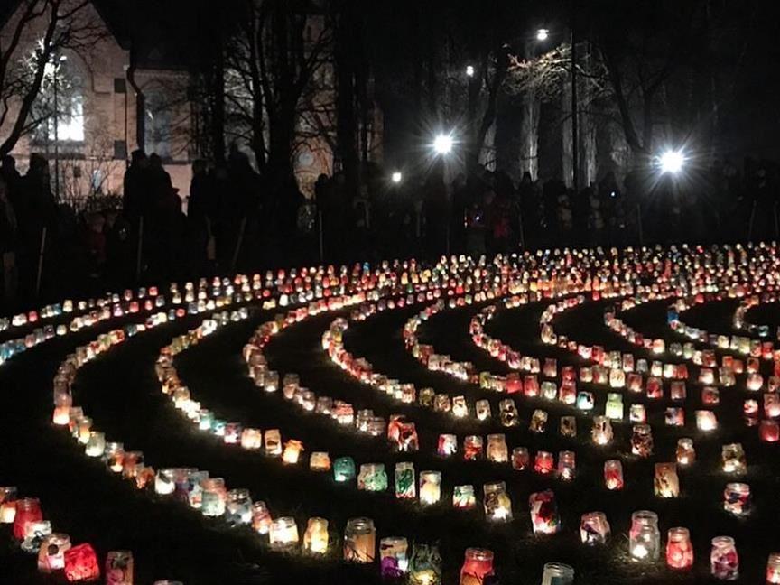 © Visit Umeå, Thousands of lanterns
