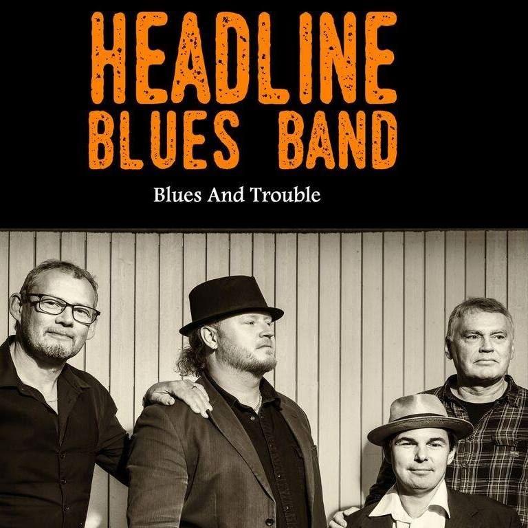 Headline Bluesband hos Öbacka Jazz & Blues
