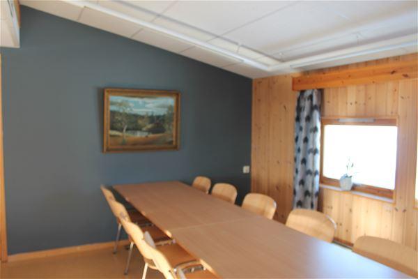 Møterommet inne på varangertunet