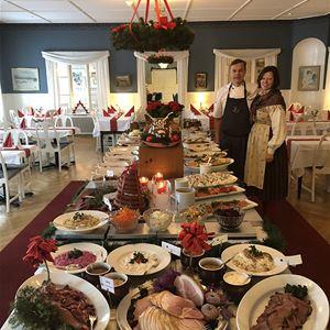 Julbord på anrika Järvsöbaden