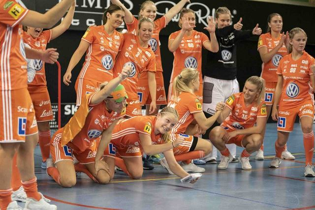 IKSU damer - Elitinnebandy