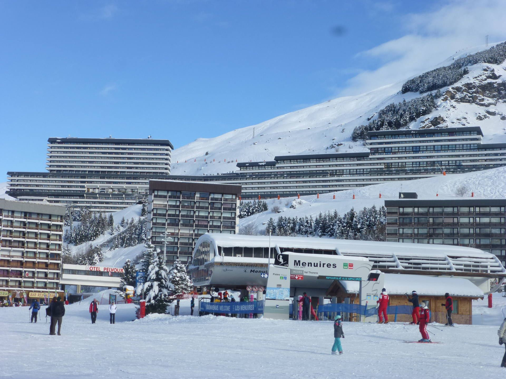 3 Pers Studio ski-in ski-out / COMBES 108