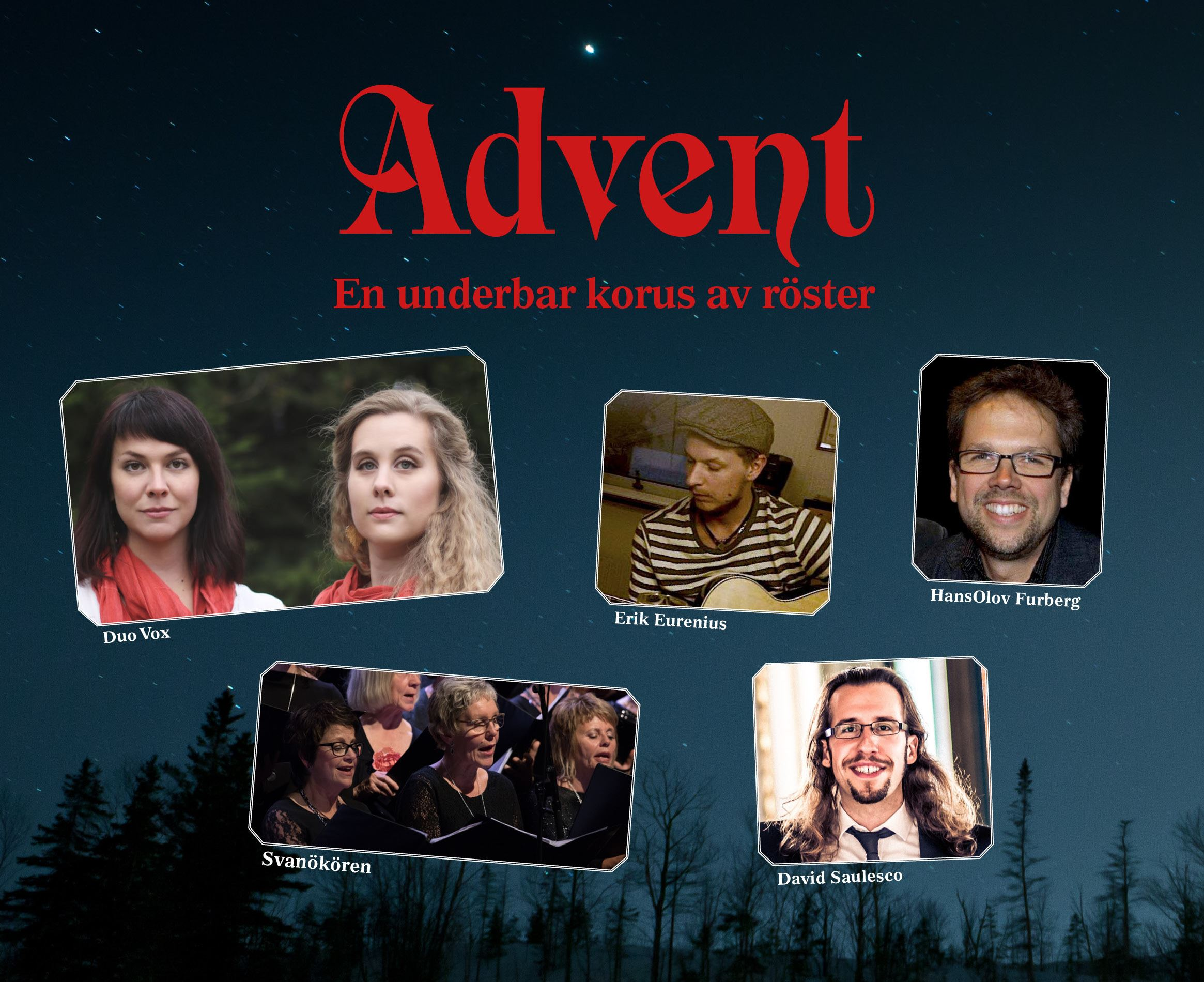 Advent – En underbar korus av röster