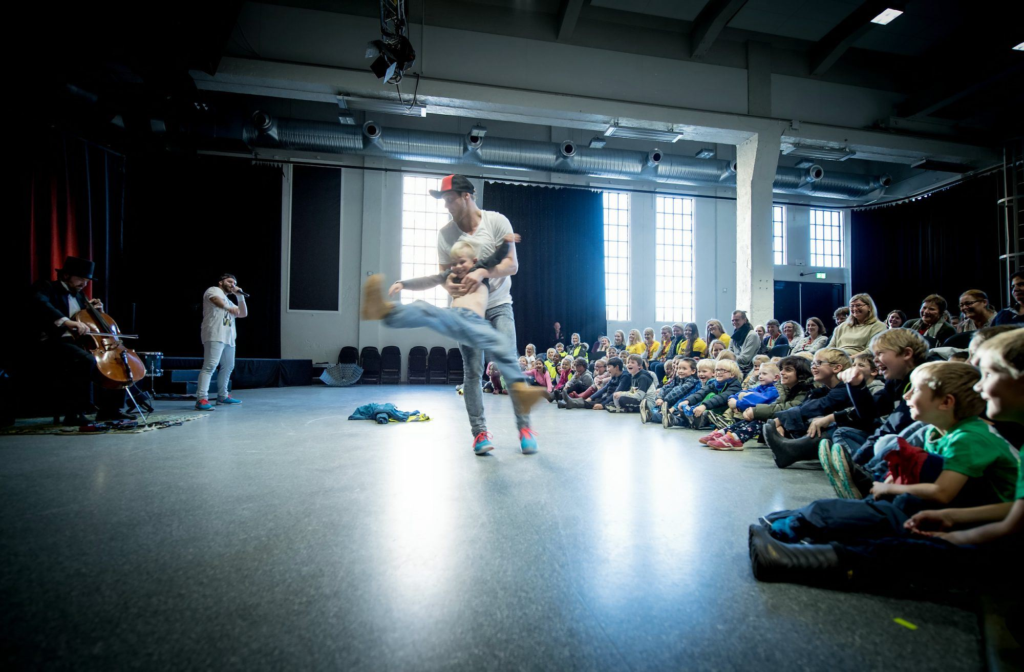Danseshow - Bach goes hiphop