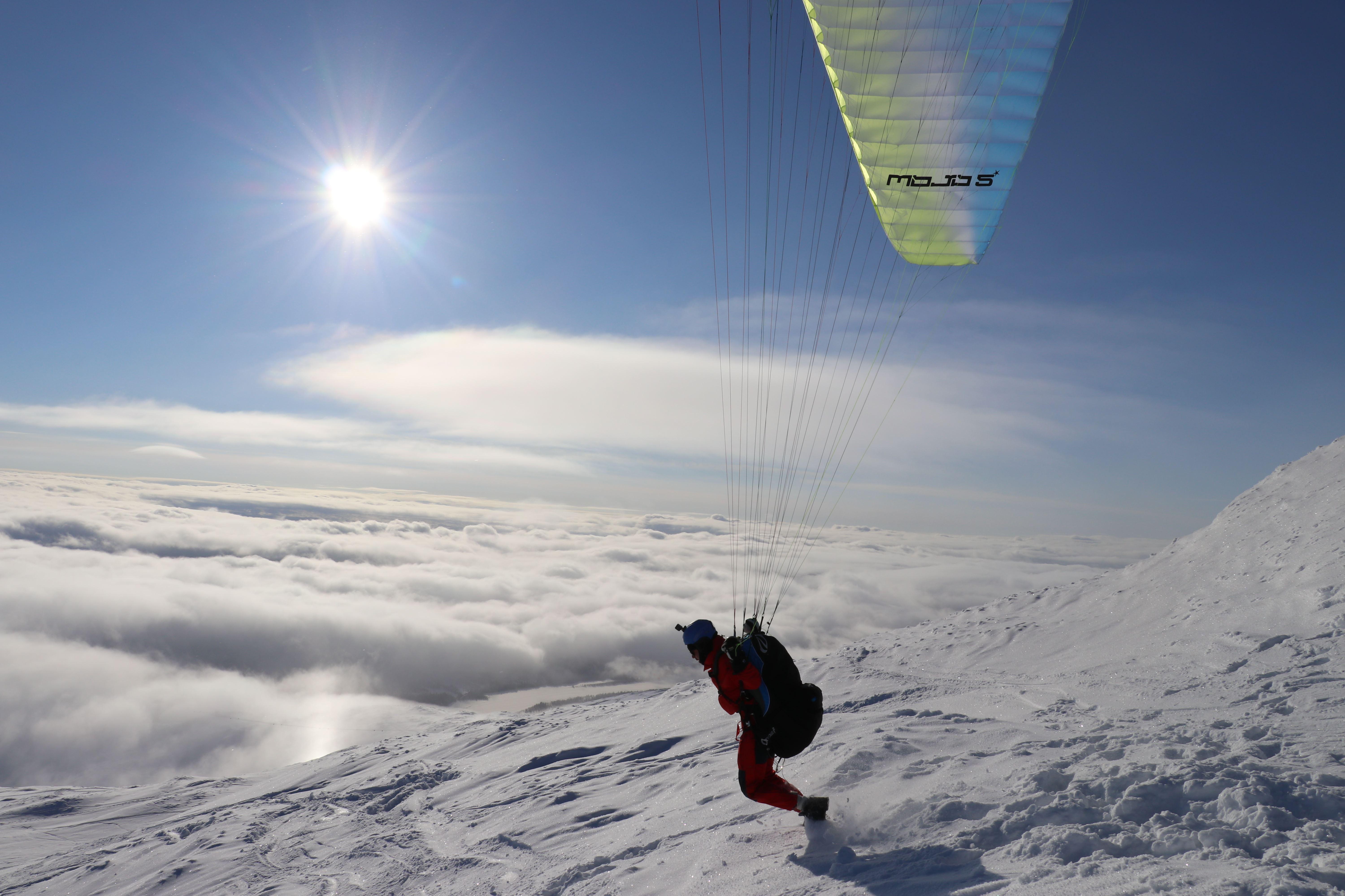 Skärmflygning Tandem med Skysport