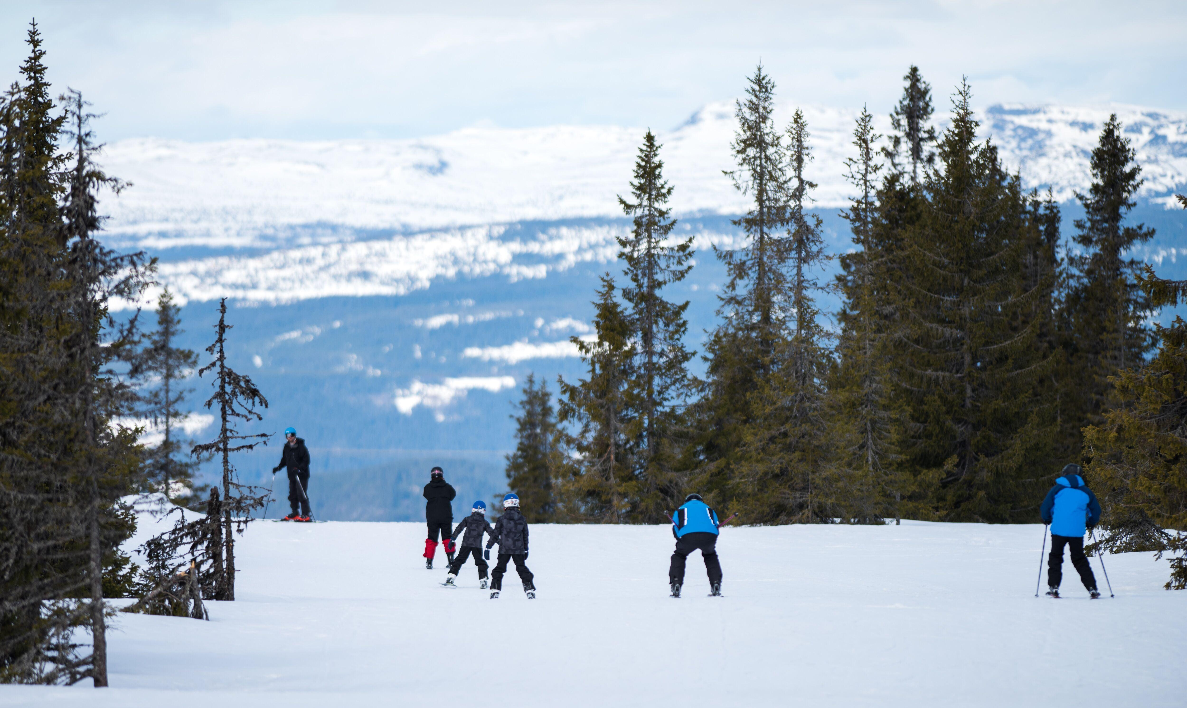 Skiskole i Hafjell