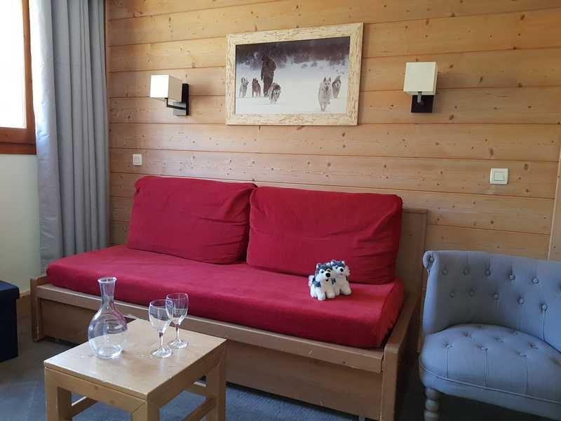 3 Room 8 Pers ski-in ski-out / Aconit 124